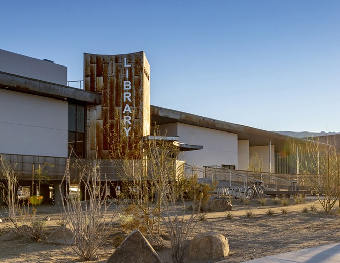 Borrego Springs Library and Sherriff's Station
