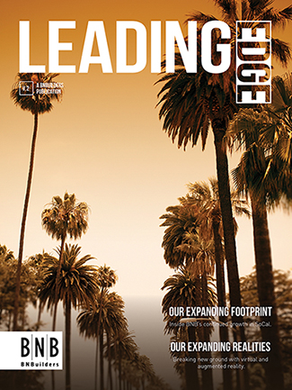 Check out the latest issue of Leading Edge magazine